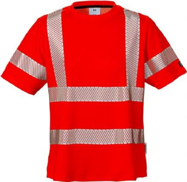 Fristads High Vis T-Shirt Woman Class 2 7458 THV (High Vis Red)